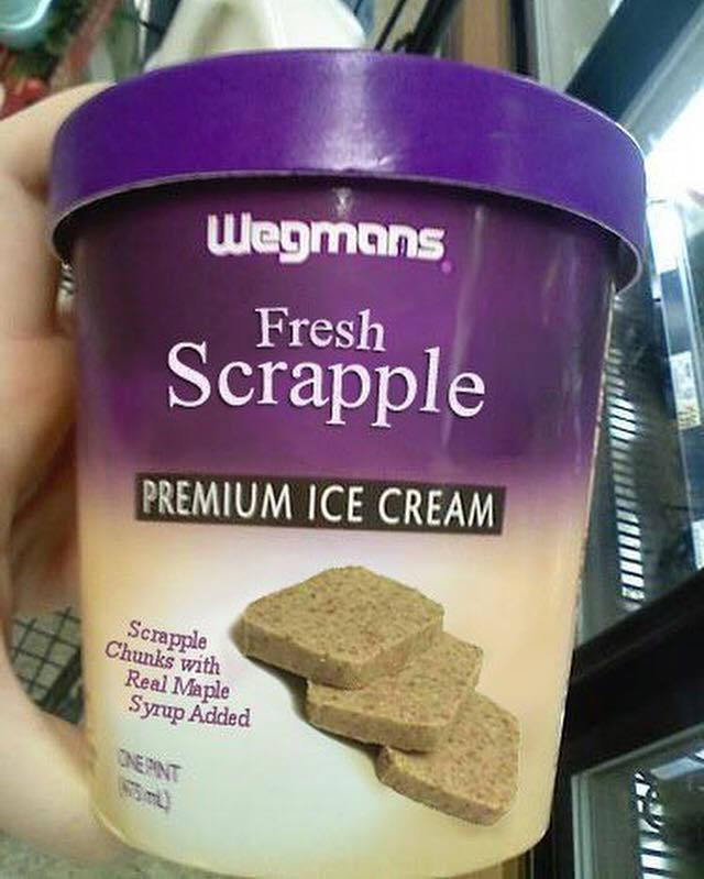 Wegmans Scrapple Ice Cream