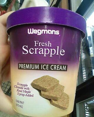 Wegmans Scrapple Ice Cream